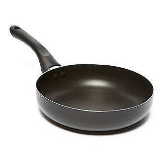 New Eurohike Fry Pan - 20 x 4.5cm Camping Cooking Eating Silver
