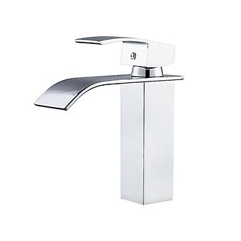 Deck Mounted Single Hole Chrome Water Bath Faucet