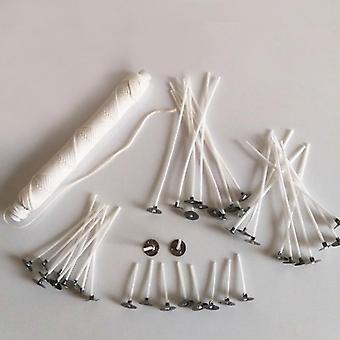 100pcs Cotton Candle Smokeless Wick