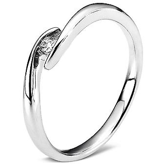 Luna Creation Promessa Solitairering 1A469W456-1 - Ring width: 56