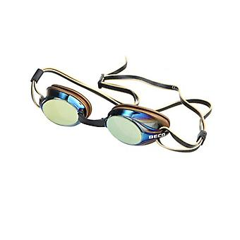 BECO Boston Mirror Adult Swim Goggles - Gold