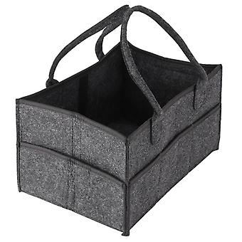 Baby Diaper Tote Organizer, Nursery Storage Bin, Portable, Wipes And, Changing