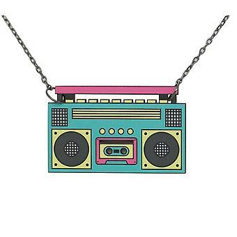 80'erne Retro halskæde #6110