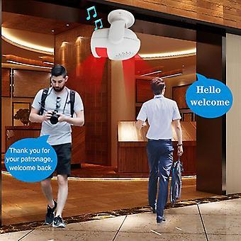 Trådløs Smart Welcomer, Home Security Indbrudstyv Alarm Host, Pir Motion Detection