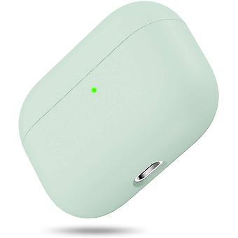 Trojvrstvé hybridní ochranné tvrdé pouzdro kompatibilní s Apple AirPods Pro (světle zelené)
