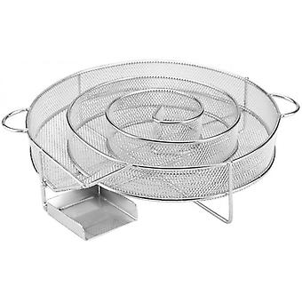 Bbq Cold Smoke Generator Grill Barbecue Basket (rund)