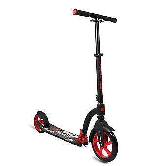 Byox scooter scooter urbano plegable, ABEC-7, PU, alu freno soporte lateral