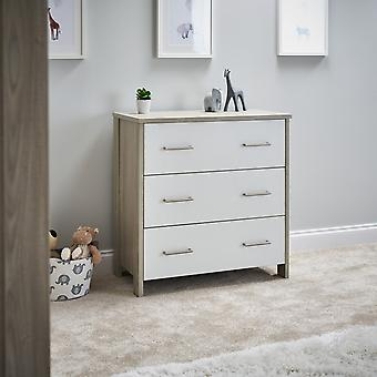 Obaby Nika Changing Unit - Grey Wash White