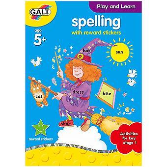 Galt jugar y aprender el libro de ortografía
