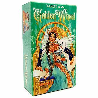 Rider Tarot Karten Golden Wheel Englische Version für Anfänger Kartenspiel