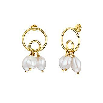 NOELANI Silver Hoop Earrings 925(15)