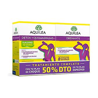 Aquilea Detox + Draining Pack -50% Discount 2 units