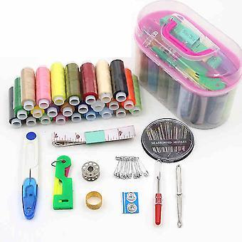 New 35pcs Line Stitch Needle Thread Storage Kit Home Sewing Kit ES9865