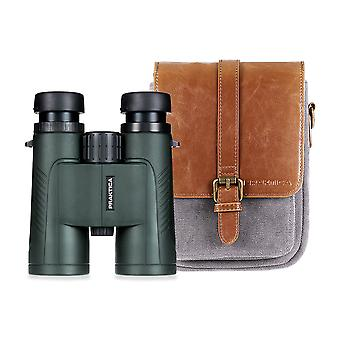 無料ケース付きプラクティカオデッセイ8x42mmグリーン防水FMC光学双眼鏡