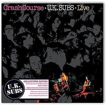 Brittiska Subs - Crash Course Grey & Clear Vinyl