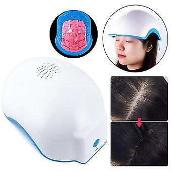 """ארה""""ב לחבר לייזר טיפול שיער צמיחה קסדה נגד נשירת שיער מכשיר טיפול נגד נשירת שיער לקדם שיער צמיחה מחדש כובע עיסוי 678nm fa0493"""