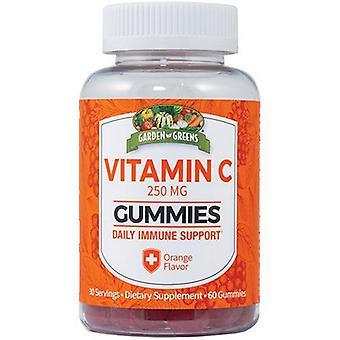 Garden Greens Vitamin C Gummies, 250 mg, 60 Gummies