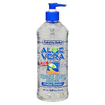 Fruit Of The Earth Fruit Of The Earth Aloe Vera Crystal Clear Gel, 20 oz