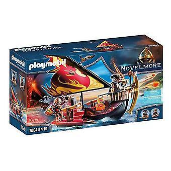 Playset Novelmore Burnham's Bandits Boat Playmobil 70641 (55 kpl)