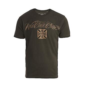 West Coast Choppers Herren T-Shirt Eagle Crest