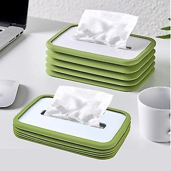 Creative Silicone Elastic Lifting Car Tissue Box Restaurant Coffee Table Living Room Household Paper