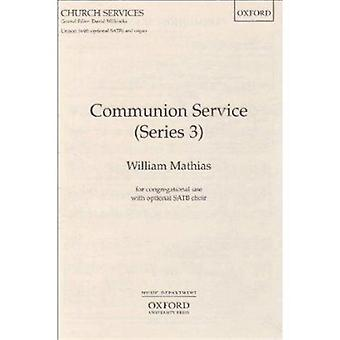 Communion Service Series 3 by By composer William Mathias