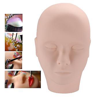 Maquiagem Tatuagem silicone cabeça modelo prática pele