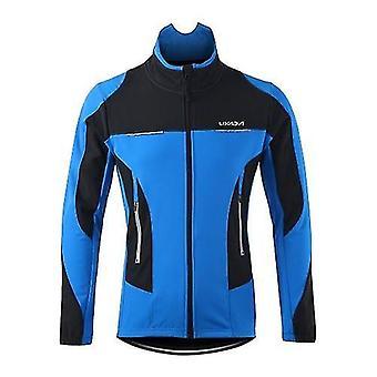 自転車自転車ジャージ男性の屋外サイクリングジャケット冬の熱通気性快適な長袖コート耐水性乗馬スポーツウェア