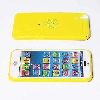 Portable electronic games 18 section arabic quran mini learning phone toy with light
