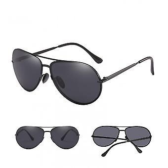 Nuevas gafas de sol de alta definición polarizadas de moda con marco metálico para 2021