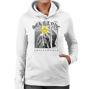Smiley World Self Love Women's Hooded Sweatshirt