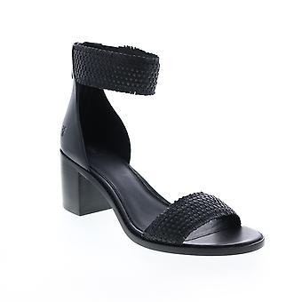 Frye Adult Womens Bianca Woven Back Zip Strap Heels