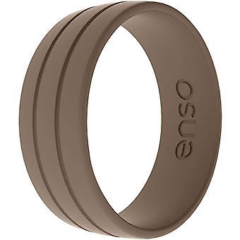 Enso Gyűrűk Ultralite sorozat szilikon gyűrű - Mokka
