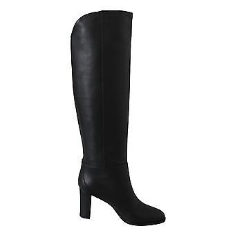 مادالى 80 حذاء جلدي أسود