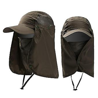 Unisex Sun Protector Face Neck Cover Hat For Outdoor Sport/hiking