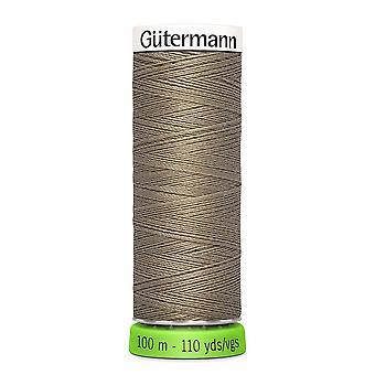 Gutermann 100% Återvunnen polyestersy-all tråd 100m Hand och maskin - 724