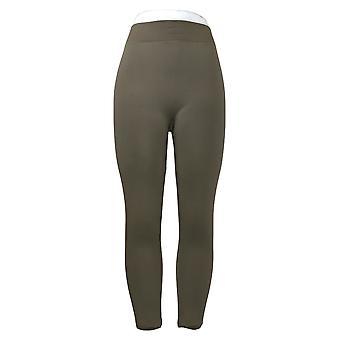 Rhonda Shear Leggings Femme M/L Reg 2-pack Polaire Doublé Noir 679984