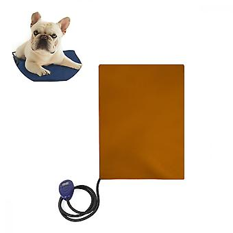Pet Water-proof, Scratch-resistant Thermostatic Heating Electric Blanket (brown)