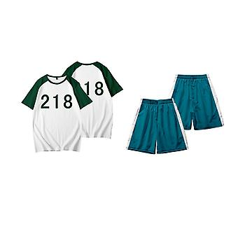 Blekksprut spill kostyme, sweatshirt t-skjorte, no.218