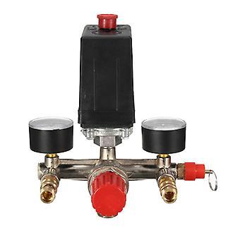 175psi Air Compressor Pump Pressure Switch Control With Gauges Regulator