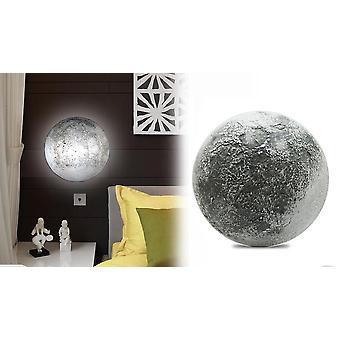 ledet natt lys kur måne soverom dekorasjon romantisk vegg lampe fjernkontroll