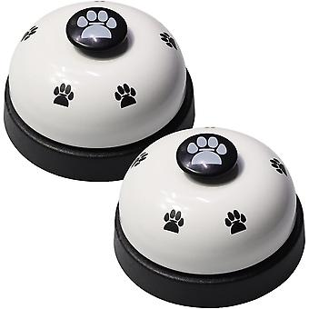 2 Set Pet Training Bells Dog Bells Potty Training Communication Device