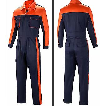 Vêtements de protection, salopette d'une pièce, vêtements d'assurance travail, à manches longues étanches à la poussière et résistants à l'usure, Xxxl
