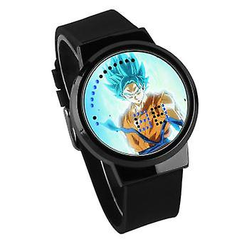 Vízálló világító LED digitális touch watch-dragon ball #44