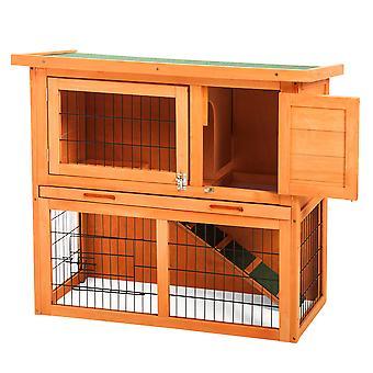 Rabbit Hutch Cage 2 livelli