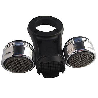 Set of High Quality Kitchen Faucet Tap Aerators 2 x M24mm Male + Opening Tool