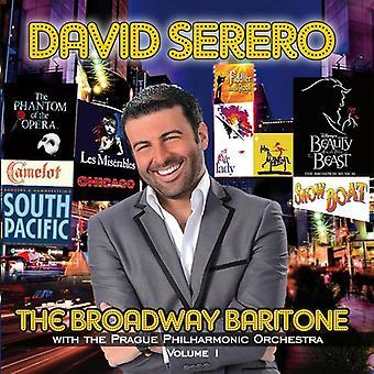 David Serero - importation USA Broadway baryton [CD]