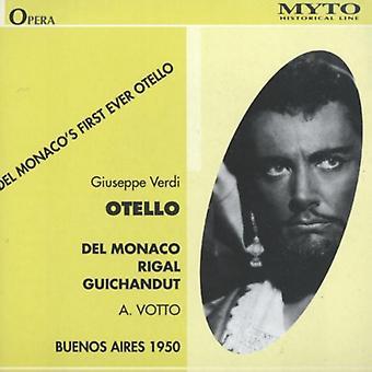 Verdi / Del Monaco / Rigal / Guichandut / Votto - Otello (Buenos Aires 1950) [CD] USA import