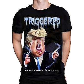Knd - triggered trump - short sleeve t-shirt