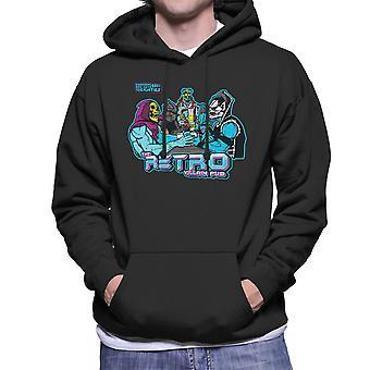 Retro schurk Pub mannen Hooded Sweatshirt